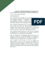 Reglamento de Inscripciones Del Registro de Predios -2