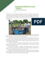 18/09/13 Ciudadania-express SSO Atiende Emergencia Sanitaria en Zonas Afectadas Por