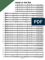 Pensando Em Nois Dois - Score and Parts