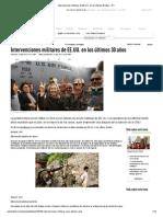 Intervenciones Militares de EE.uu