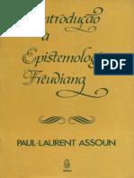 164104143 Assoun P L Introducao a Epistemologia Freudiana
