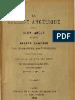 Em Swedenborg LA SAGESSE ANGELIQUE sur LE DIVIN AMOUR et sur LA DIVINE SAGESSE Le Boys Des Guays 1892