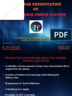 Bhilwara BSL Thermal Power Plant Summer Training Ppt