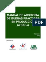 Manual de Auditoria de Buenas Practicas en Produccion Avicola