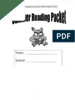 Gr 3 Reading Packet