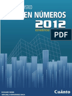 Anuario Estadistico Peru en Numeros 2012