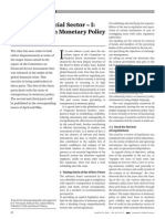 Issues in Financial Sector I Transparency in Monetary Policy