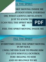 Fill the Spirit