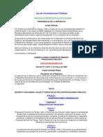 Ley de Contrataciones Públicas Venezuela