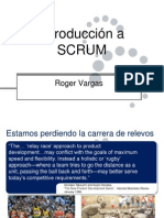 Introduccion a SCRUM - V1.0 - Roger Vargas