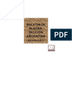 Aladaa. Seccion Argentina. Boletin Noviembre 2011