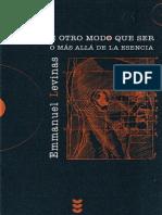 Emmanuel Levinas-De otro modo que ser o m�s all� de la esencia.pdf