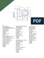 CNC Program