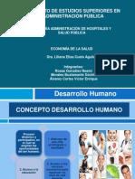 CONCEPTO DESARROLLO HUMANO