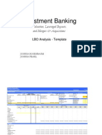 LBO Analysis Template