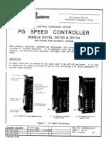 Pg Speed Control