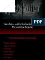 The Marketing Campaign of Harry Potter and the Deathly Hallows Part One