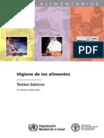 Higiene de Alimentos - Textos Básicos