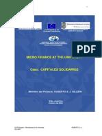 Microfinanzas en La Universida