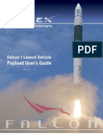 SpaceX Falcon 1 Launch Vehicle Payload Users Guide