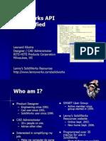 SolidWorks API