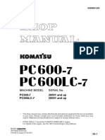 Shop Manual Pc600-7