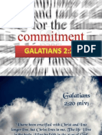 Commitment to God