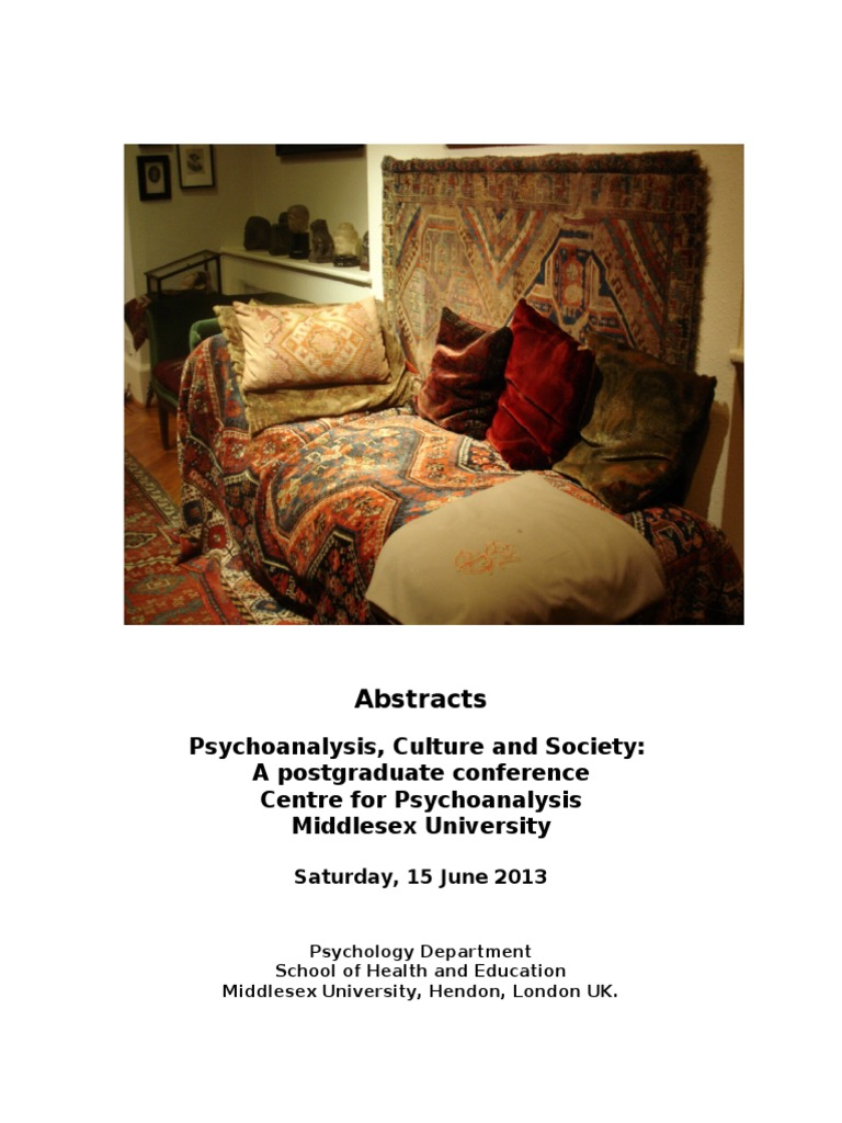 Psychoanalysis homosexuality conference