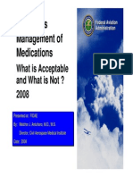 FAA Medication Policies
