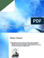 Mesin Konversi Energi II
