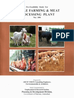 Cattle Farming & Meat Processing Plant