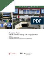 Manajemen Parkir - Sebuah Kontribusi menuju Kota yang Layak Huni