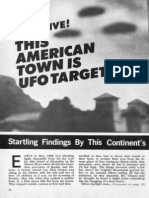 "THIS AMERICAN TOWN IS UFO TARGET, NUMBER 1. By John A. Keel and Gene Duplantier, Editor of ""Saucers, Space and Science"" Magazine."