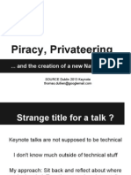 Piracy, Privateering and the Creation of a New Navy