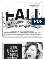 The Union  Coupon Book Fall 2013