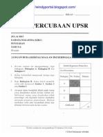 Percubaan UPSR Julai2013 Perak BM2