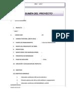 Informe Tecnico Modelo Memoria Descriptiva de un Proyecto