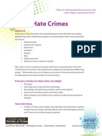 Hate Crimes - Help for Teenage Victims of Crime