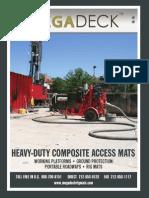 MegaDeck Heavy-Duty Composite Access Mats