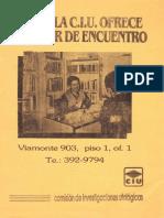 CIU Folleto (1988)