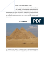 Touristic Places and Weather of Egypt