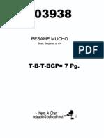 Besame Mucho - 3 Horns + Rhythm