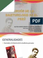 ATENCIÓN DE LA BARTONELOSIS EN EL PERÚ