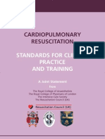 CPR -  Standards for Clinical Practice and Training