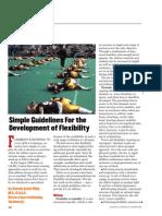 Simple Guidelines Development Flexibility