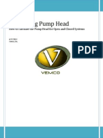 Calculating Pump Head