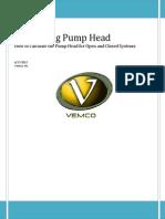 Calculating Pump Head