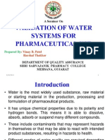 Validation of Water System