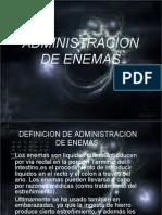 ADMINISTRACION DE EDEMAS