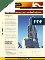 AIRAH Heat Load Fact Sheet